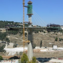 Constantine Bridge - Construction site (3)