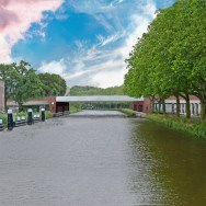 Sint Sebastiaan bridge - View from Hambrug