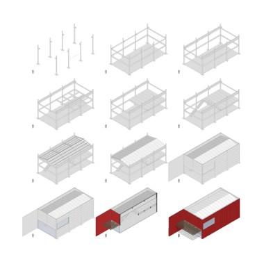Av. Protásio Alves - Construction sequence