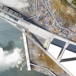 Kruunusillat Bridge - Kruunuvuorenranta plan 705px