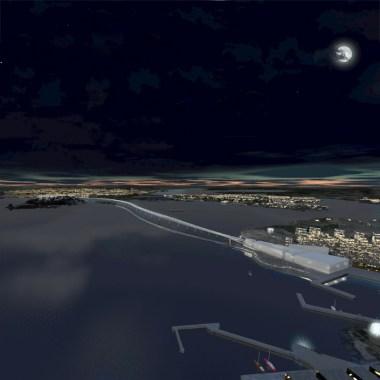 Kruunusillat Bridge - Photo (3) night 705px