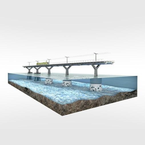 Kruunusillat Bridge - Section deck single (1) 705px