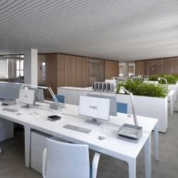 OVS HQ Refurbishment - Open space in building B