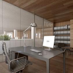 OVS HQ Refurbishment - Private office in building B