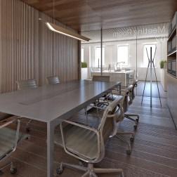 OVS HQ Refurbishment - Meeting room in building B