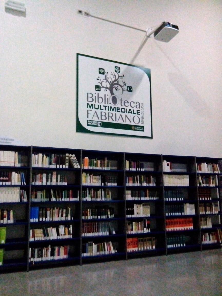 Presentazione presso la Biblioteca Multimediale Fabriano