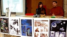 La relatrice Sara Bonfili (eventisette) l'autore Lorenzo Ramadoro. Riprese di Samuele Pierantoni.