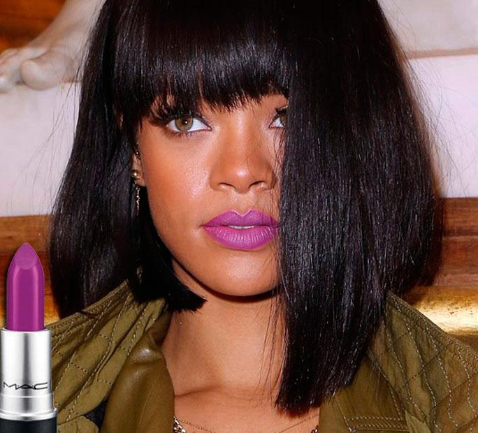 Top 7: Batons favoritos de 2016 - Mac - Heroine - Rihanna