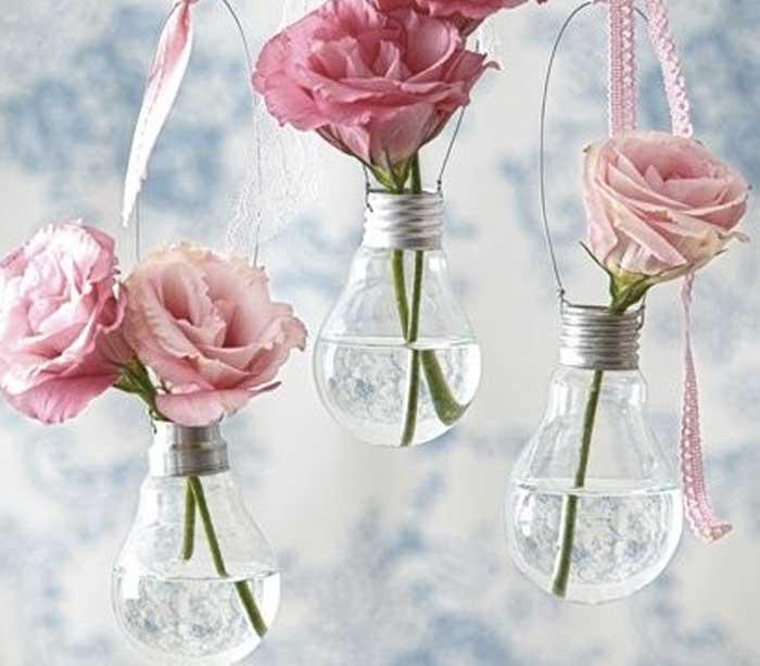 Transformando lâmpadas queimadas em decoração