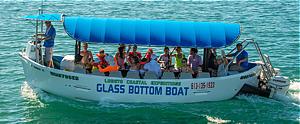Glass Bottom Boat tour in Loreto, Mexico