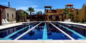 Loreto Bay Mexico Founder's Neighborhood Lap Pool