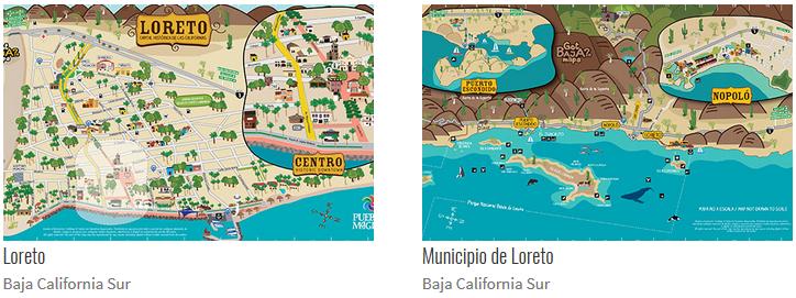 Loreto Bay Maps