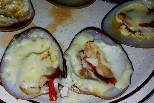 Clams are a local specialty and are found on menus at most restaurants.