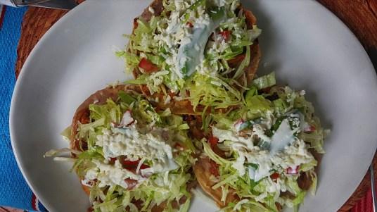 Tasty tostadas at Orlando's Mexican Cocina.
