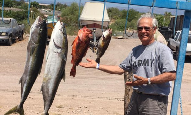 A Day of Fishing in the Waters of Loreto, Mexico