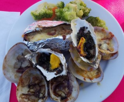 oysters-veggies