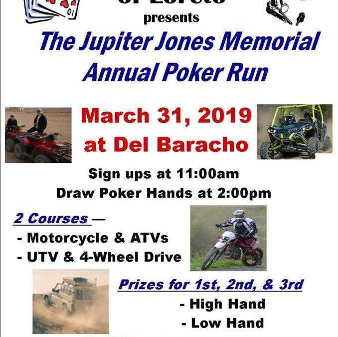 Jupiter Jones Memorial Annual Poker Run