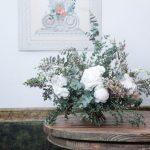 Ramo de flores blancas de temporada Loreto Aycuens