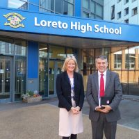 MP Visits Loreto