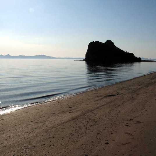 Loreto Bay beach