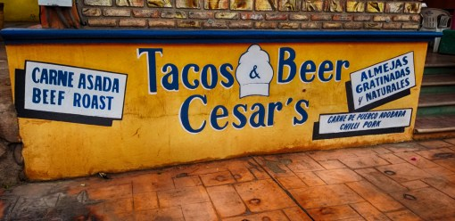 Tacos And Beer Cesar's