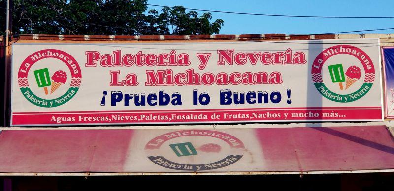 Michoacana Ice Cream Salvatierra