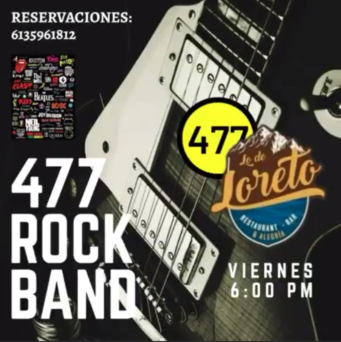 477 Rock Band Lo de Loreto