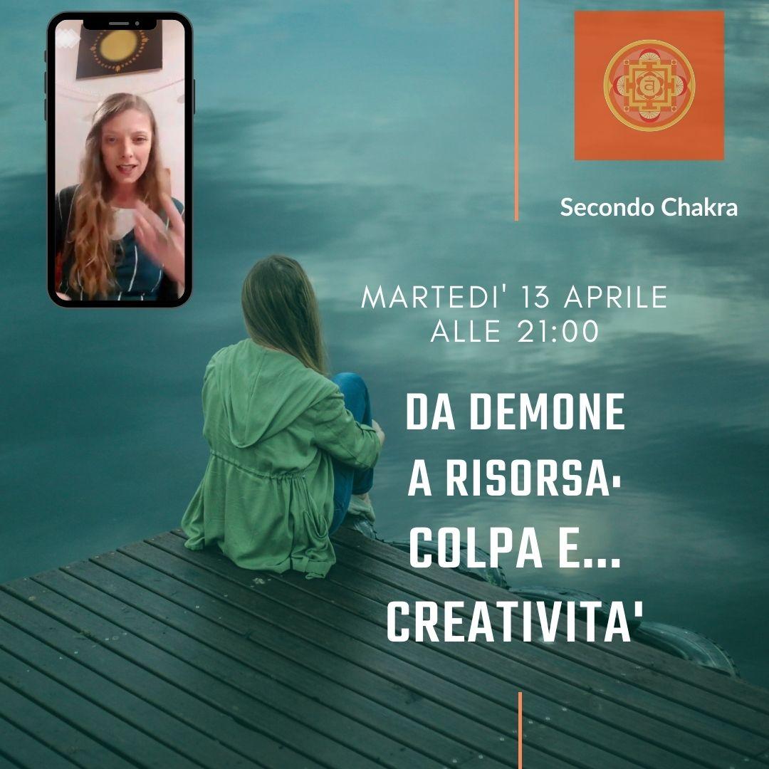Colpa e Creatività diretta Loretta Claudia Guglielmi