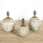 Set Of 19th Century Chinese Ginger Jar Lamps Lorfords Antiques