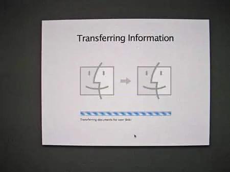 imac transfer
