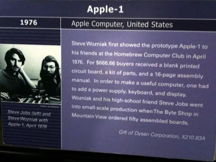 Apple 1 Description