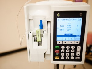 Infusion pump delivers precise dose of ketamine so screen a ketamine clinic if they use one.