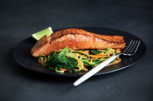 When you eat salmon, you feel better emotionally because strategic eating affects your depression.