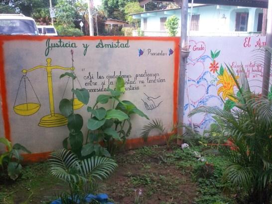 jardines en escuelas