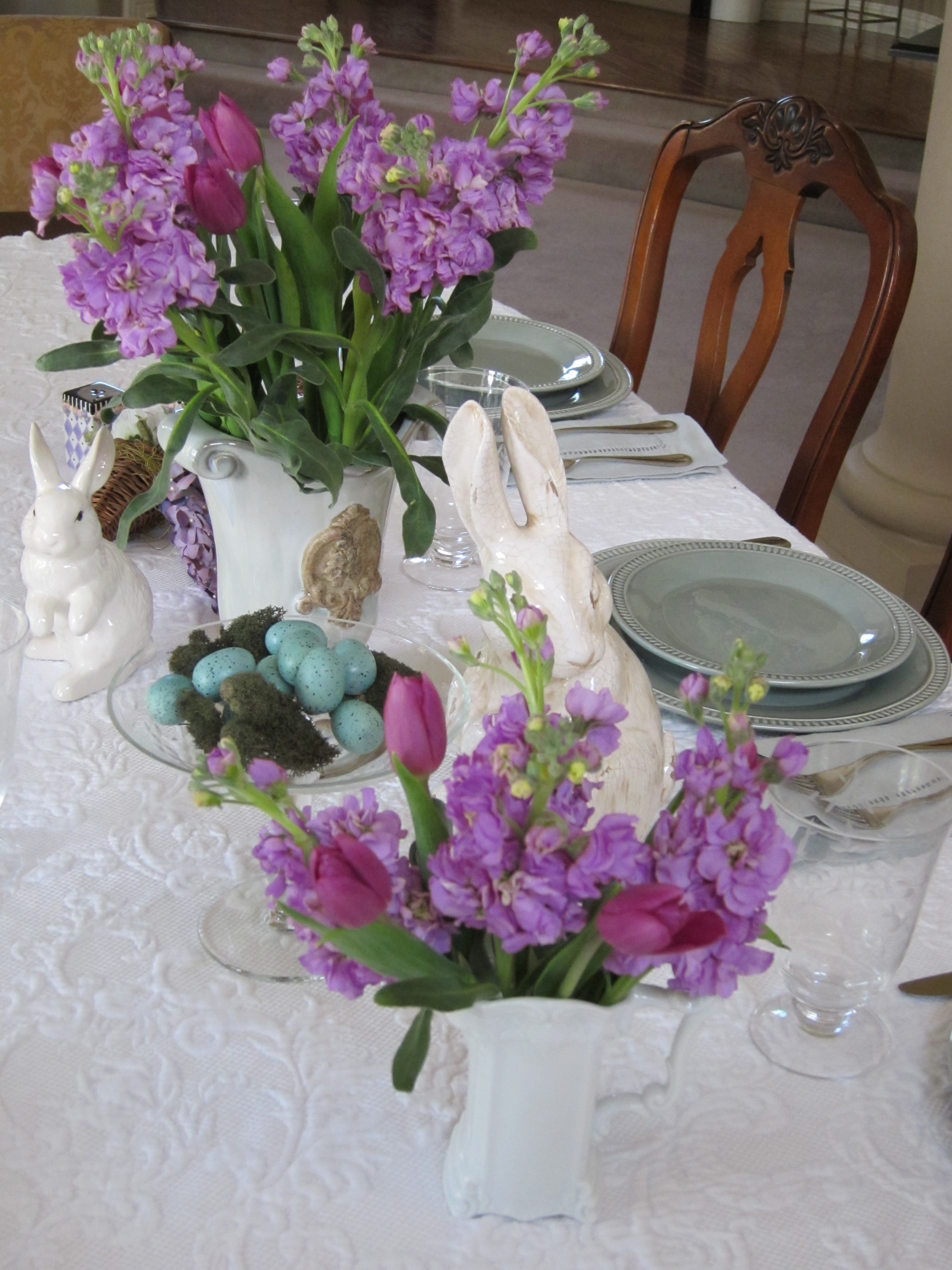 A Lavender Easter Tablescape Loris Favorite Things