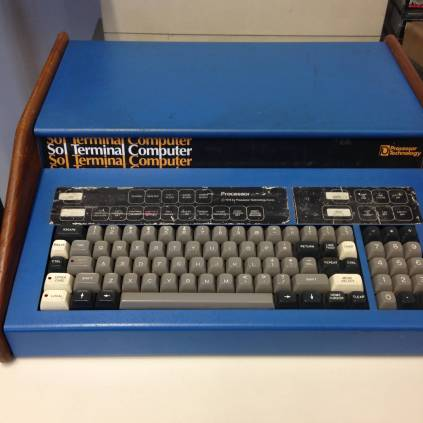Signal Lab: a Sol-20 personal computer, from 1977-1979, co-designed by Lee Felsenstein