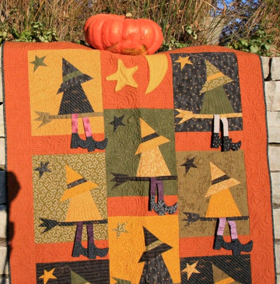 Buggy Barn Witch Quilt
