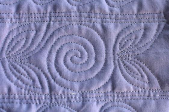 Lori Kennedy, Spirals, FMQ