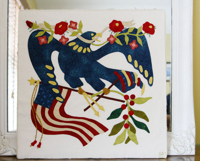 Friends of Baltimore, Hand applique, quiting