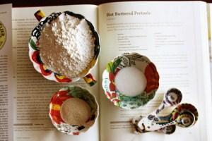 Measuring spoons, King Arthur Flour, Anthropologie, Making soft pretzels