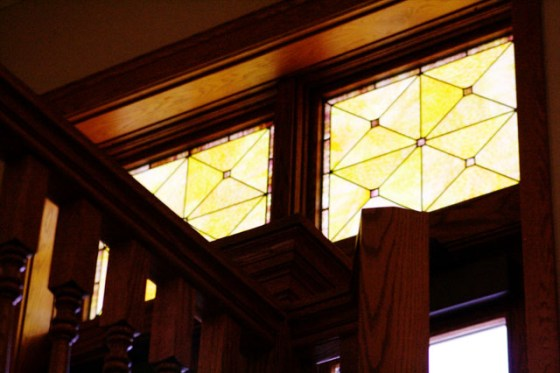 Stained Glass,Andrew Carnegie Library