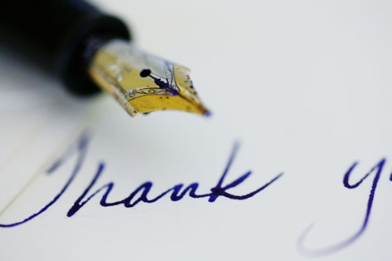 The Art of Saying Thank-You, Letters, Personal letters, Hand-written letters, Mont Blanc fountain pen, sealing wax