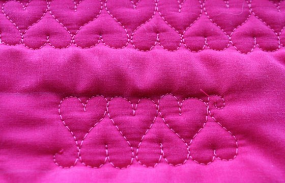 Sweetheart Border, Free Motion Quilting Tutorial