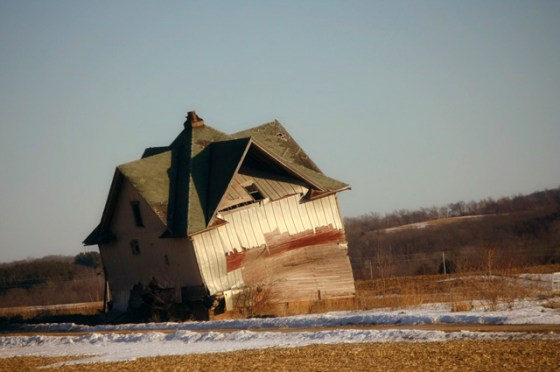 Photography, House, Falling Down House, Farmhouse