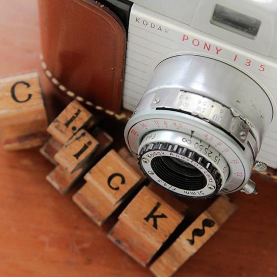 Vintage Camera, Pony 135