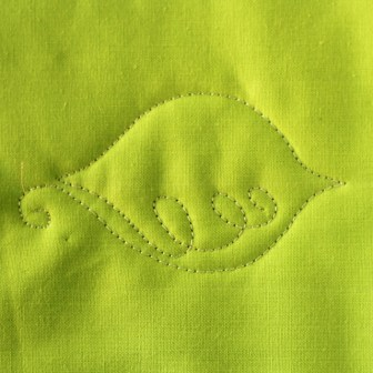 Free Motion Quilting Tutorial--The Loopy Leaf