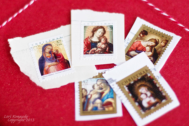 Christmas Postage Stamps