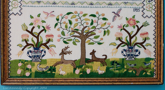 Embroidery, Sampler
