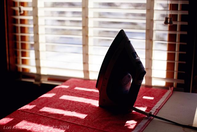 Iron, silhouette