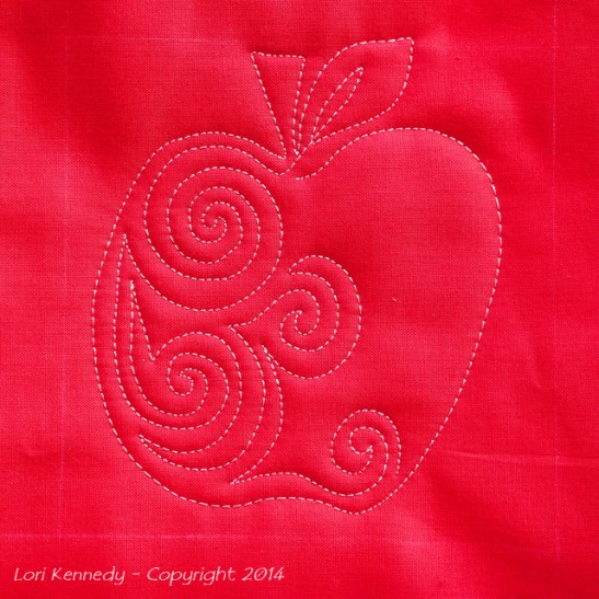 Apple Free Motion Quilt Tutorial